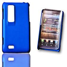 Handy Back Cover Hülle Case Schutzhülle in Blau für  LG P920 Optimus 3D