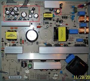 Repair Kit, LG 37LC7D, LCD TV, Capacitors