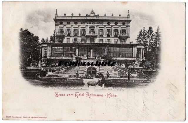 alte Ak 1901 Gruss vom Hotel Rottmanns Höhe, Starnberger See