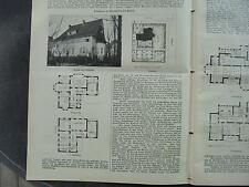 1909 Baugewerkszeitung 94 / Berlin Zehlendorf