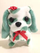 Electronic Pet Robot Kids Toy Puppy Dog Walking Barking Tail Swing Green Spots