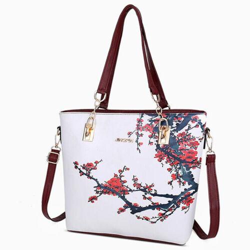 Slimpe Six-piece Women/'s Handbags Trendy Printed Mother-child Bag Y2