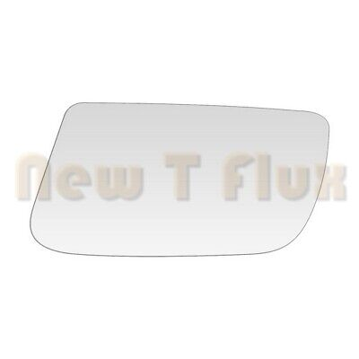 Fits 88-92 MAZDA MX6 626 POWER//MANUAL RIGHT PASSENGER SIDE~MIRROR-GLASS+ADHESIVE