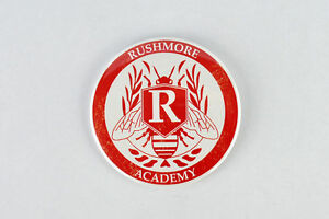 faa8499d45313 Image is loading Rushmore-Academy-Crest-large-button-Wes-Anderson-Jason-