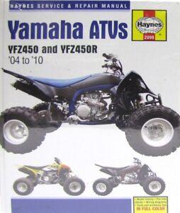 haynes manual 2899 yamaha yfz450 yfz450r atv quads 04 10 rh ebay co uk yamaha yfz 450 service manual download 2008 yamaha yfz 450 service manual pdf