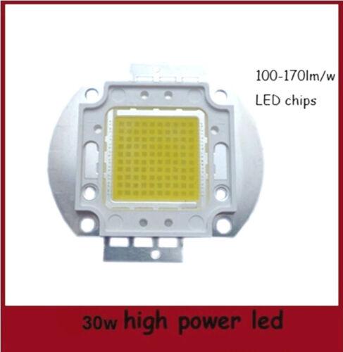 HI-POWER COB LED 30W 1050mA BIANCO CALDO WARMWHITE 2700-3300K 2700-3000LM