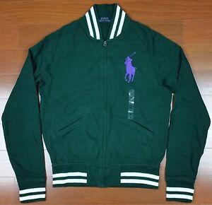 Ralph Lauren Men Polo Big Pony Purple Green