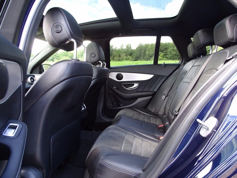 Mercedes C220 d 2,0 AMG Line stc. aut. - billede 7