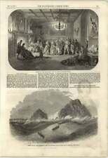 1851 Cornwall Wreck Lands End Brisson Rocks New Commercial