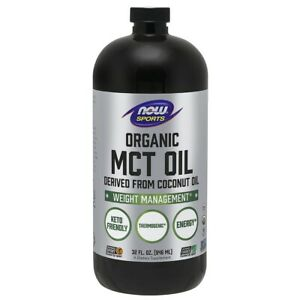 Now Foods Mct Oil, Organic - 32fl oz Clearance EXP 03/2021