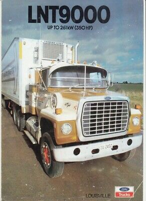 1994  FORD LOUISVILLE FLEETMASTER  Truck Australian Sales Leaflet