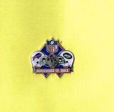 Buffalo Bills November 17, 2013 Game vs Jets NFL Football Lapel Hat Pin
