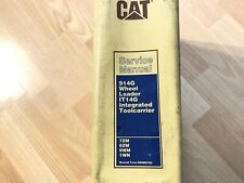 Caterpillar 914g Wheel Loader It14g Toolcarrier Factory Service Manual 7zm 1wn