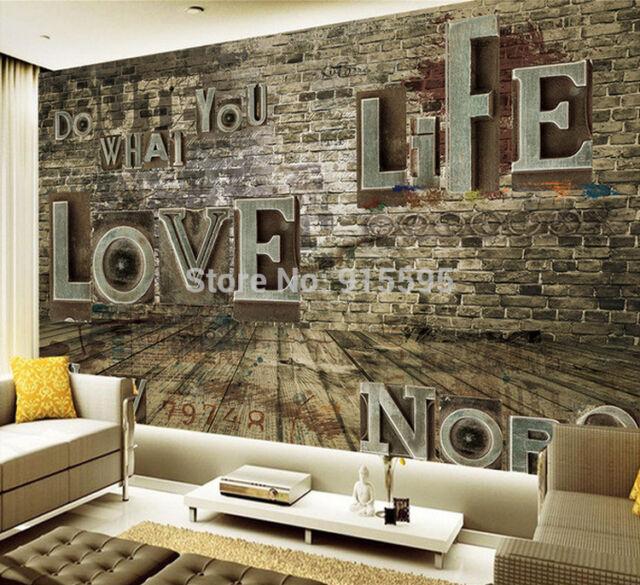 3D Wallpaper Bedroom Mural Roll Modern Luxury Embossed love ...