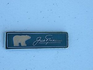 Lincoln Town Car Jack Nicklaus Signature Series Small Golden Bear