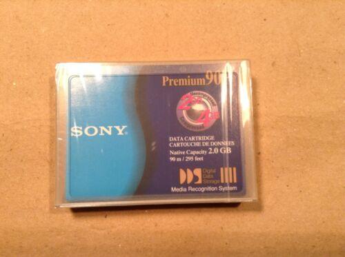 Sony Premium 90P DDS Data Cartridge DG90P 2GB/4GB New & Sealed
