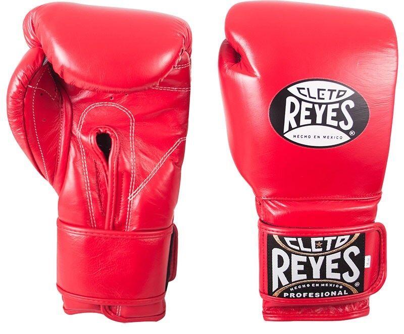 Cleto Reyes Klett Leder Training Boxhandschuhe - Rot