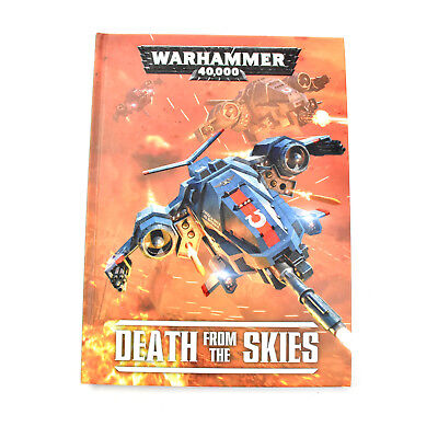Warhammer 40K Hardcover Death From the Skies Flyer Supplement