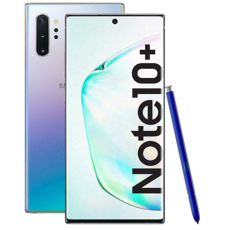 Samsung Galaxy: Samsung Galaxy Note 10Plus Grado A+++Come Nuovo 256GB N970F DS Silver Rigenerato