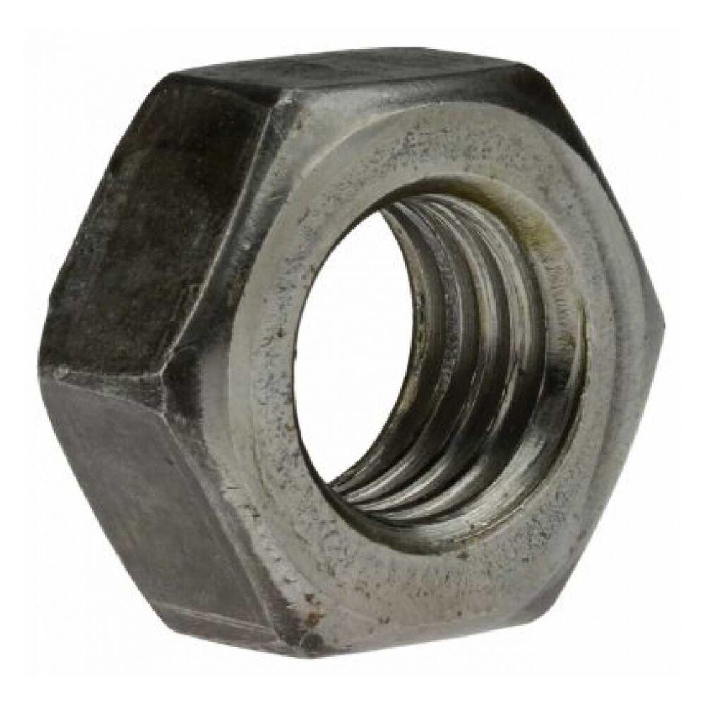 25x ISO 4032 Sechskantmuttern. M 24. Stahl. Klasse 12 blank. SW 36