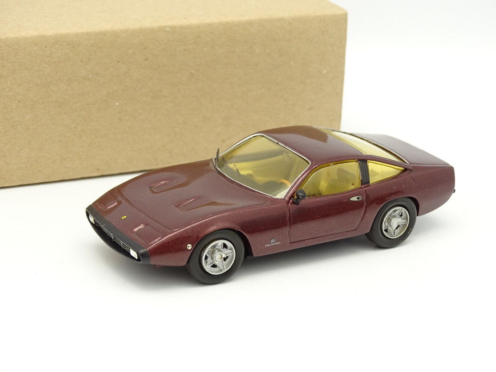 MOG Modèles Kit Monté 1 43 - Ferrari 365 GTC 4 1971 Rouge fonçé
