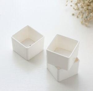 Succulent-Plant-Fleshy-Flowers-Decor-Square-Pot-Box-Container-Garden-Planter