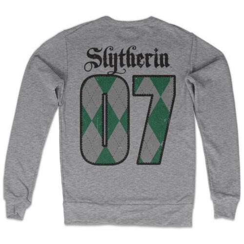 Harry Potter Slytherin Haus Wappen Crest #07 Quidditch Team Männer Sweatshirt