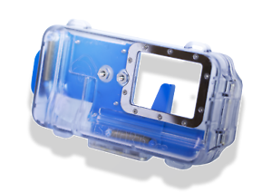 Nautismart Pro iPhone and Android Scuba Diving Phone 60m Underwater Blue Case