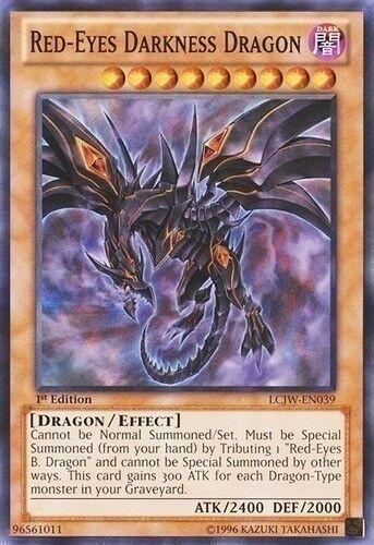 Red-Eyes Darkness Dragon (SD1-EN001) -  Ultra Rare Yugioh