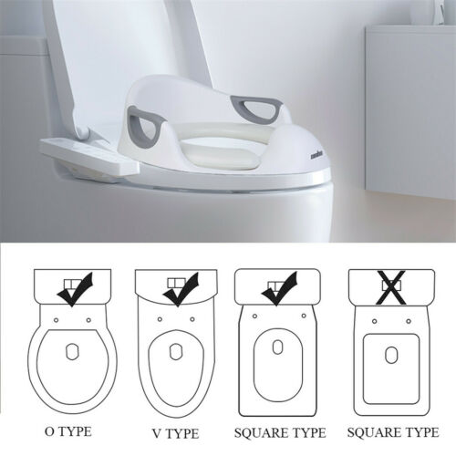 Baby Toilet Seat Toddler Training Potty Trainer Safety Urinal Chair WC Soft Pad