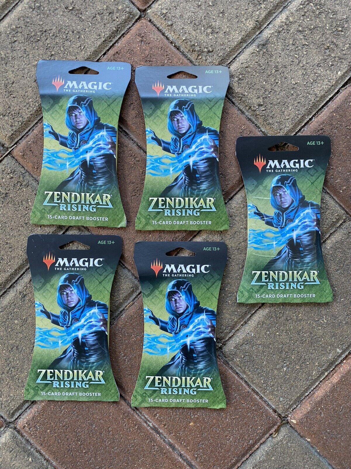 Magic The Gathering Zendikar Rising Draft Booster Japanese Version 36Pack BOX