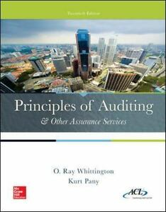Principles of auditing and other assurance services by kurt pany and stock photo fandeluxe Choice Image