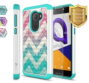 Details about Jitterbug Smart 2 (GreatCall) Case | NageBee® Hybrid Bling  Rubber Phone Cover