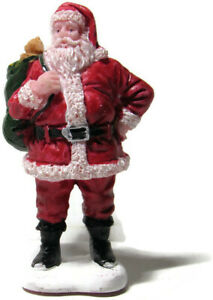 Lemax Village Figure Santa Claus with Pack of Toys on his back