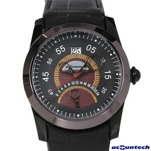 acQuatech-NUNZIATELLA-Gent-Collection-Watch-NGBKBR-44mm-Date-Leather-Strap