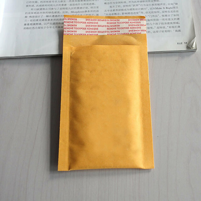 10X Bubble Bag Padded Envelopes Mailers Shipping Yellow Post Data Intact LJ