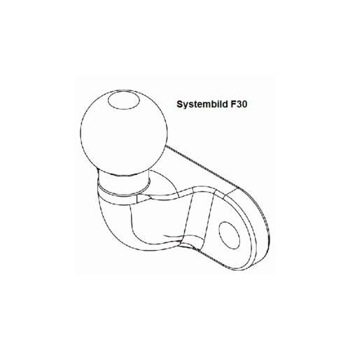 anexos dispositivo para Ford Westfalia 307260900113 anhängebock