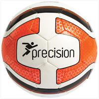 Precision Training Santos Football Soccer Ball White Fluo Orange Black