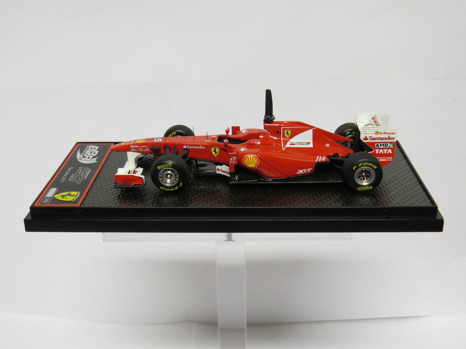 Ferrari 150 Italia Test Jerez 2011 F. Alonso Limited 250 PCS BBR C53