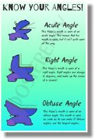 Know Your Angles - Classroom Math Poster