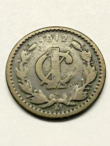 Coins Mexico 1 Cent Coin 1912
