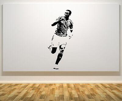 Robert Lewandowski Polish Poland Football Player Decal Wall Art Sticker Picture