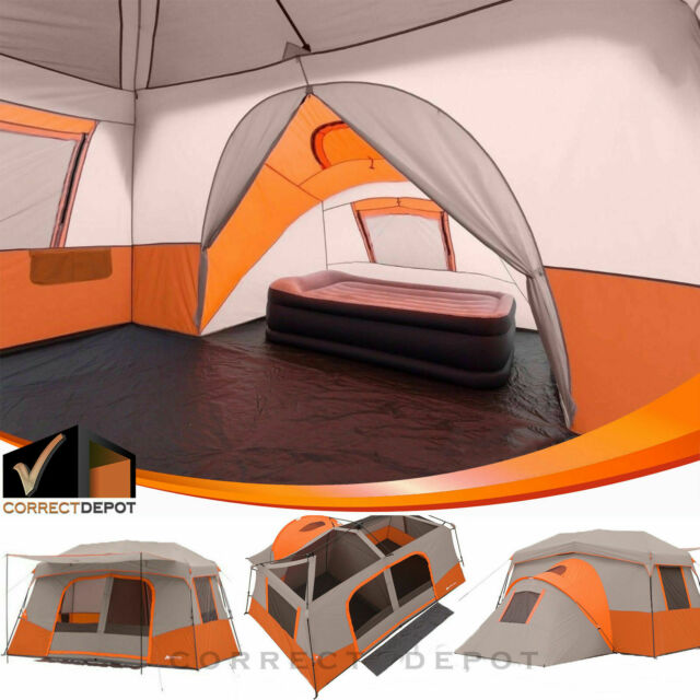 Outdoor Camping Tent Instant Family Cabin Trail Hiking 12 ...