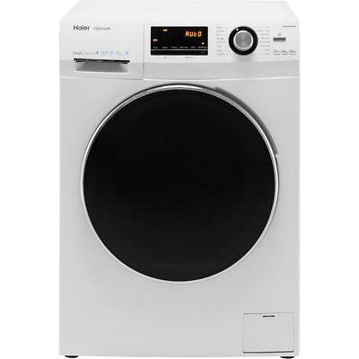 Haier HW100-B14636 Hatrium A+++ Rated 10Kg 1400 RPM Washing Machine White New
