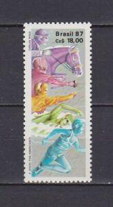 S19208) Brasilien Brazil 1987 MNH Neu Panamerican Games 1v