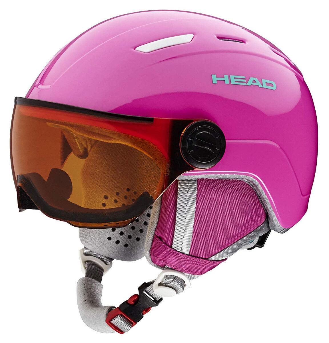 Head Maja Visor ski Snowboard Winter Sports Helmet with lens   visor Pink  new