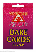 Truth//Dare Cards//Dice//Game//Bingo//Pink//Woman HEN PARTY HEN NIGHT
