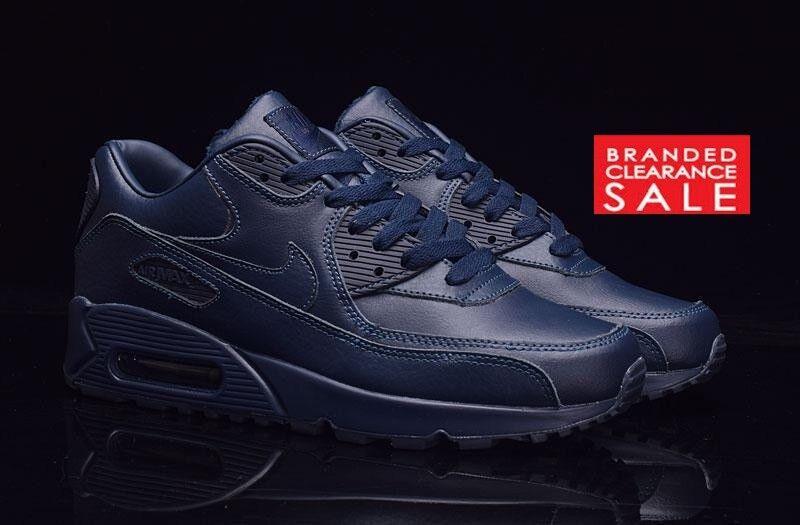 BNIB New femmes  Nike Nikelab Air Max 90 Pinnacle Obsidian bleu