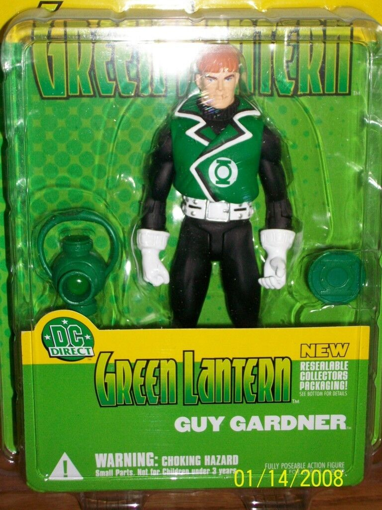 DC Direct Green Lantern complete set-Guy Gardner, Hal Jordan, Effigy, 2 villians
