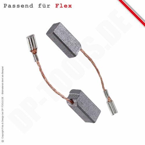Kohlebürsten Kohlen Motorkohlen für FLEX PE 14-1 180 Polierer